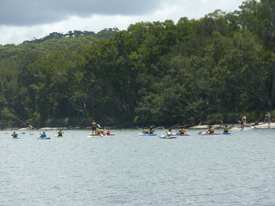 Kayaking and Stand-up paddling Avoca Lake